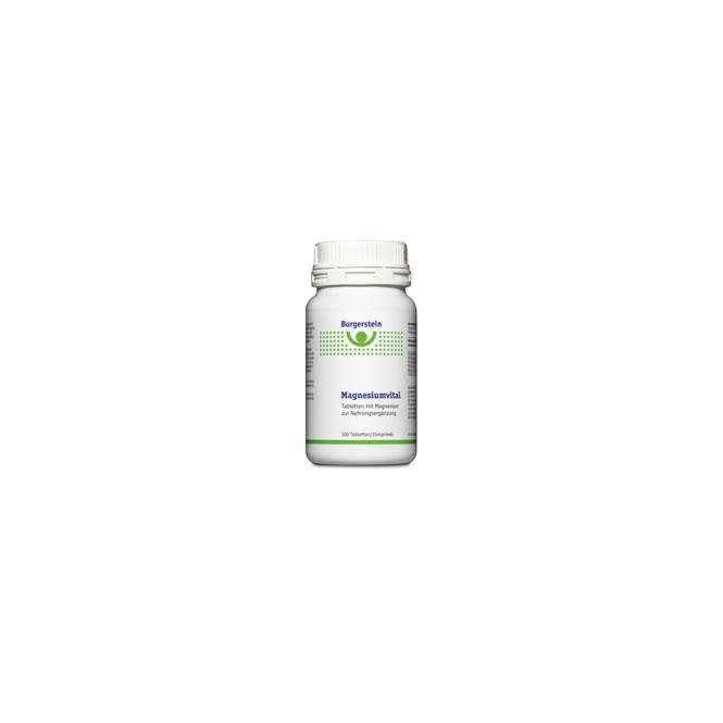 Burgerstein Vitamine Magnesiumvital 120 Tabletten