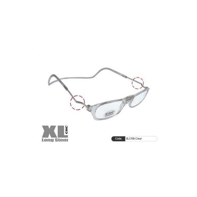 Clic Magnet Lesebrille XLCRB Clear
