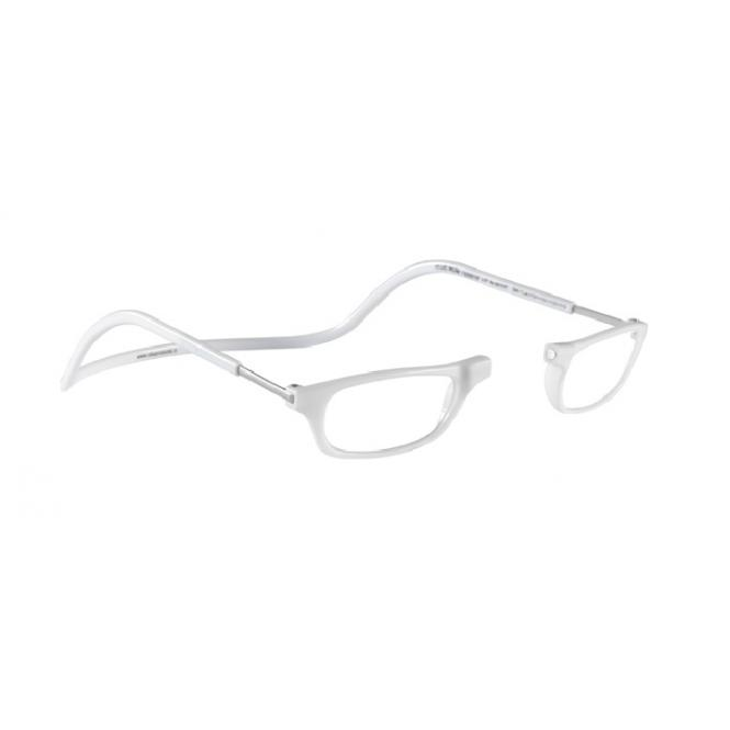 Clic Magnet Lesebrille Classic CRY Totale White