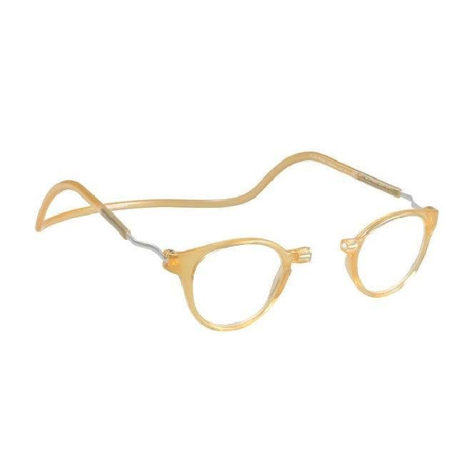 Clic Magnet Lesebrille Pantos CRRBY Yellow