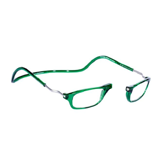 Clic Magnet Lesebrille XLCRE Emerald
