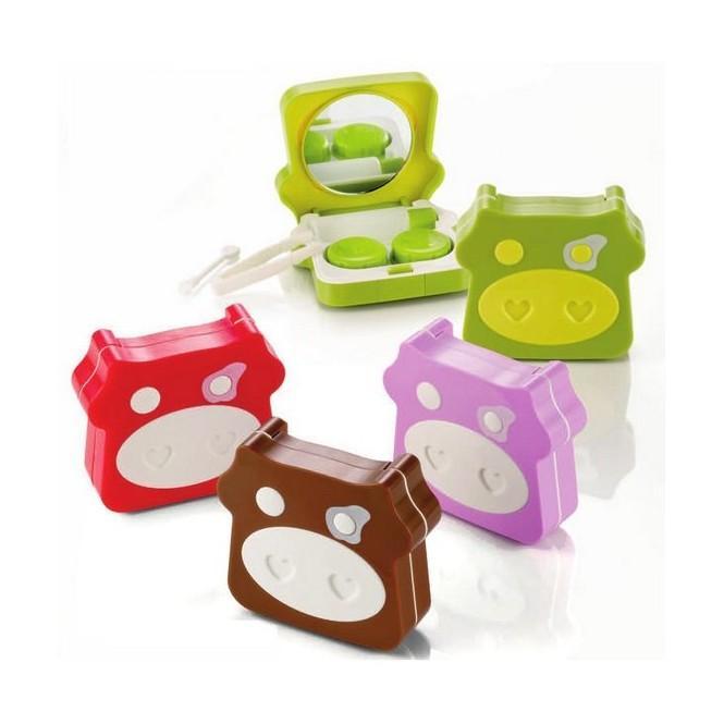 Kontaktlinsenbehälter FARM NEW 1x Grün