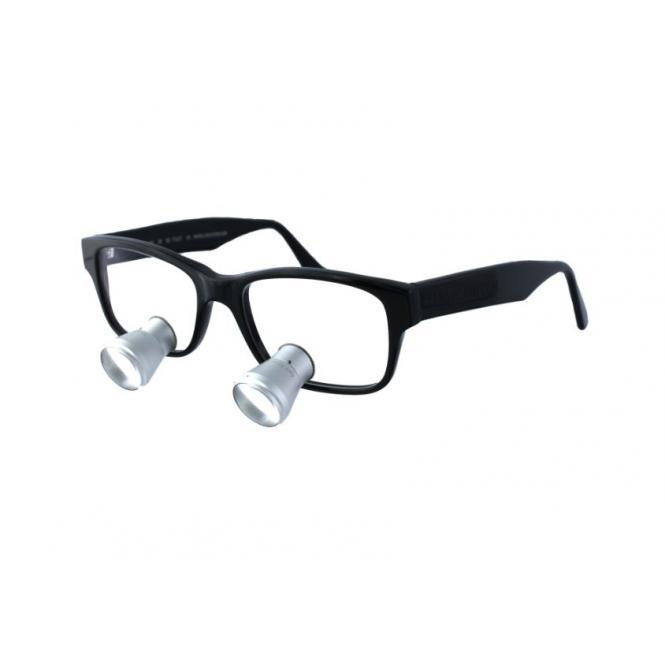LENSVISION Zeiss Lupenbrille - 2.0x Schwarz