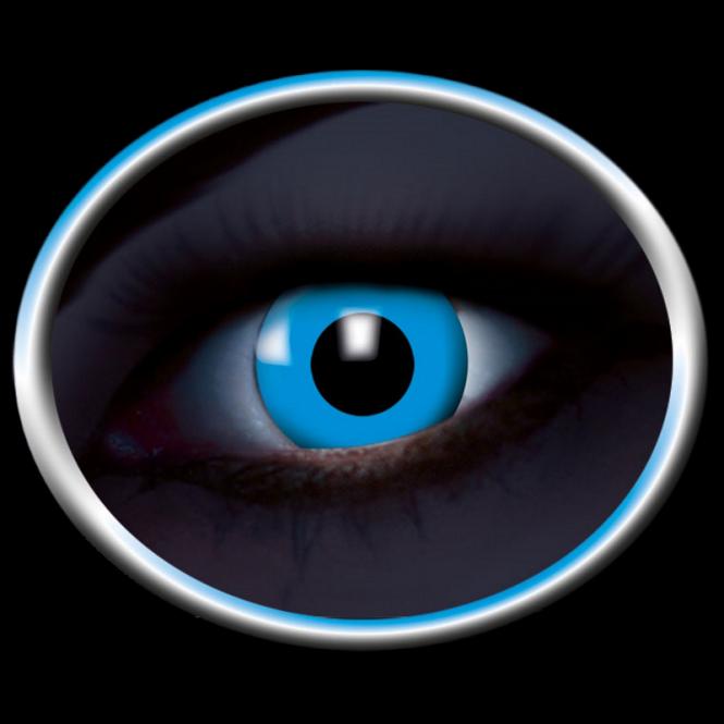 UV-Flash blue 059 - 2 Kontaktlinsen