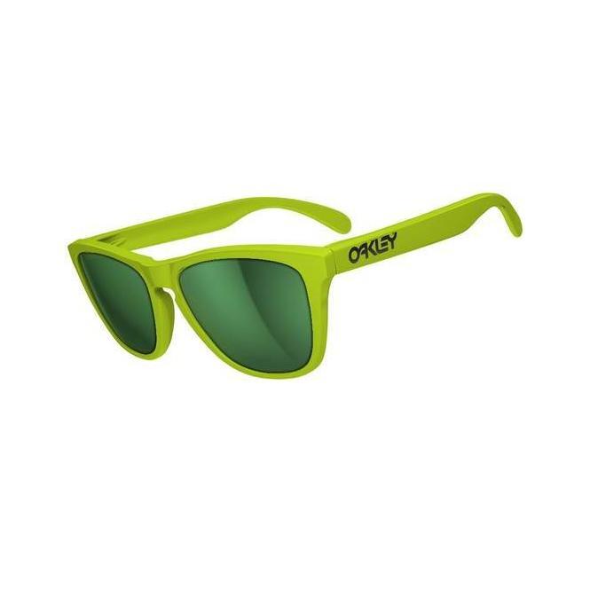 Oakley Frogskins Summit Collection 24-341 Aspen Green/Emerald Iridium Sonnenbrille