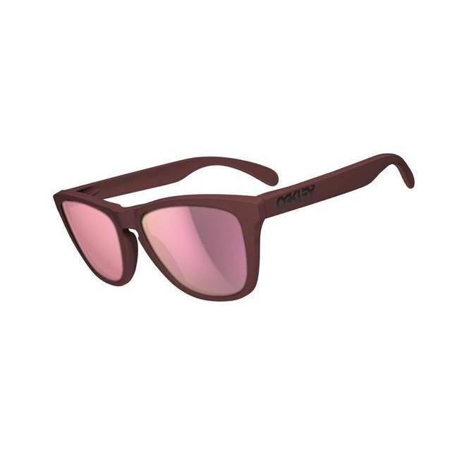 Oakley Frogskins Summit Collection 24-342 Basin Red/Pink Iridium Sonnenbrille