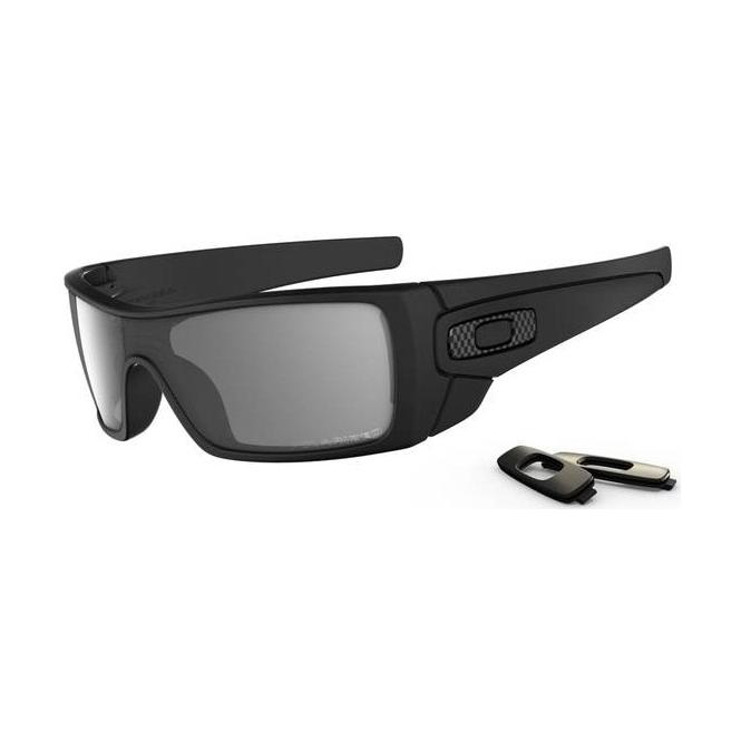 Oakley Batwolf Matte Black Polarized Sonnenbrille