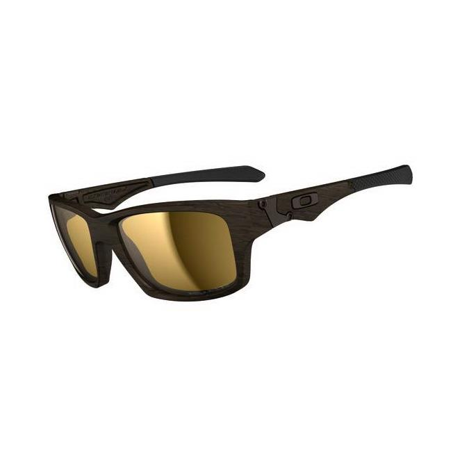 Oakley Jupiter Squared OO9135-07 Woodgrain/Tungsten Iridium Polarized Sonnenbrille