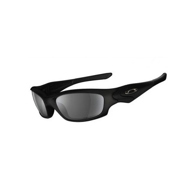 Oakley Straight Jacket Matte Black Polarized Sonnenbrille