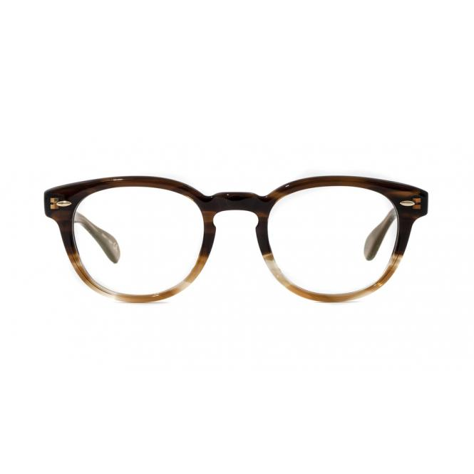 Oliver Peoples Sheldrake OV5036 - Brown Textured Tortoise Gradient 47-22