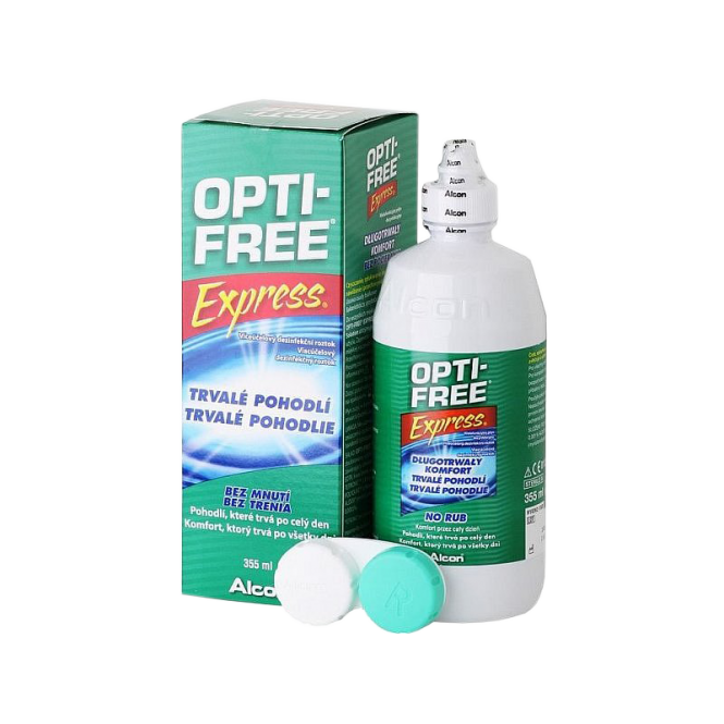OptiFree Express ALCON 355ml & Behälter