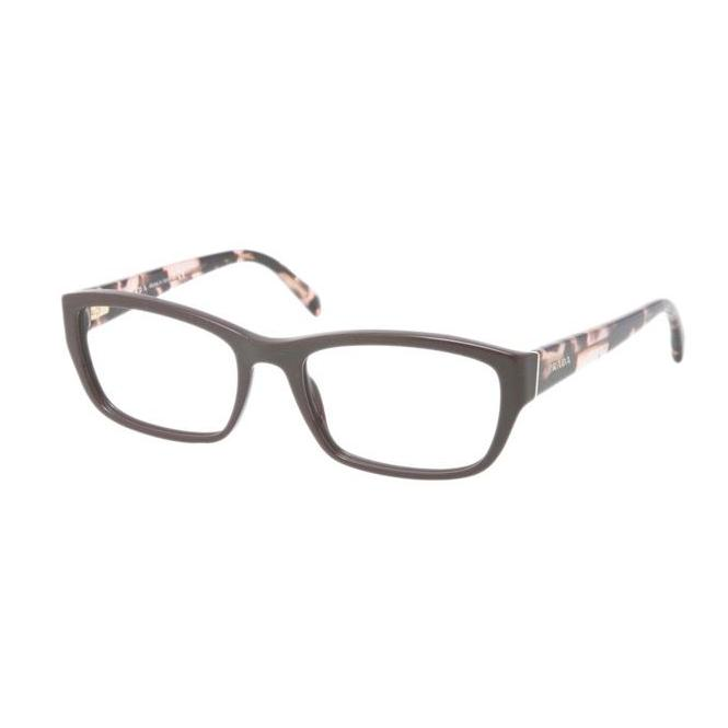 Prada PR 18OV - DHO1O1 52-18 Dark Brown