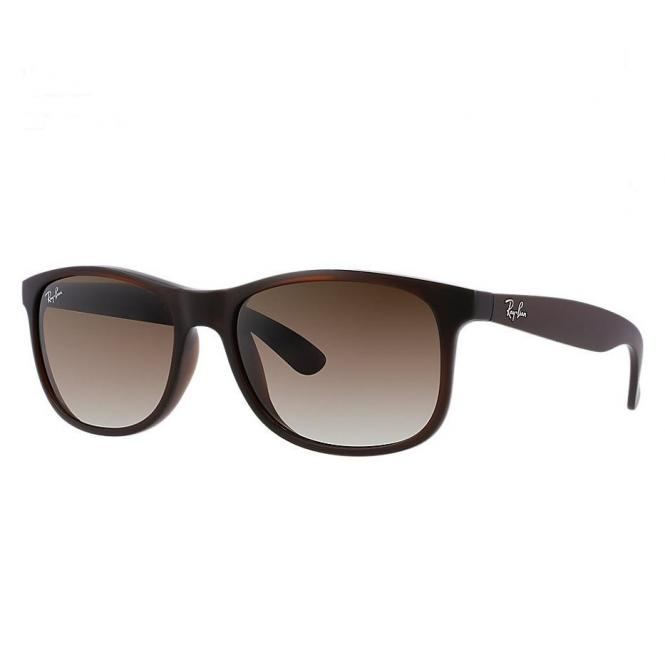 Ray-Ban RB4202 - 607313 Brown Faded 55/17