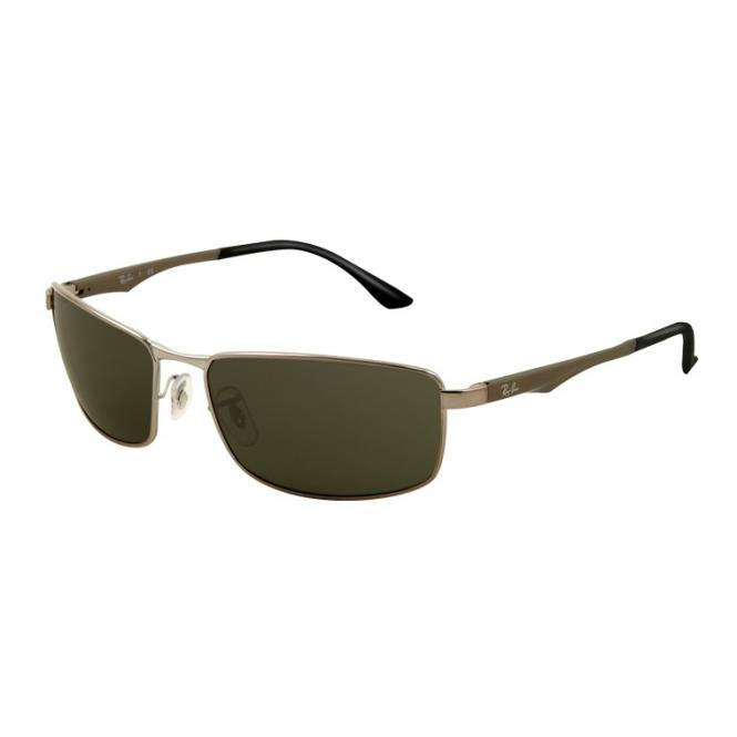 Ray-Ban RB3498 - 004-71 Gunmetal / Green 64 - 17