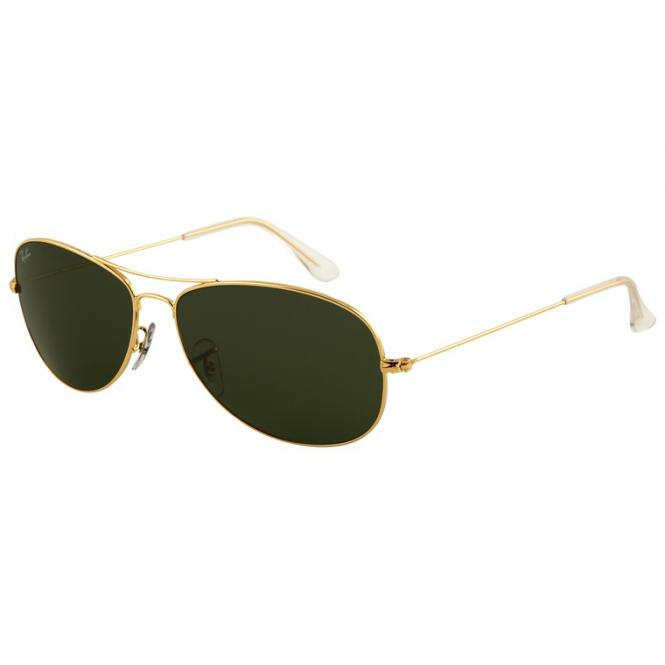 Ray-Ban Cockpit RB3362 - 001 Arista/Green 59-14