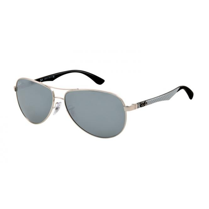 Ray-Ban RB8313 - 003-40 Silver / Grey Mirror 58-13