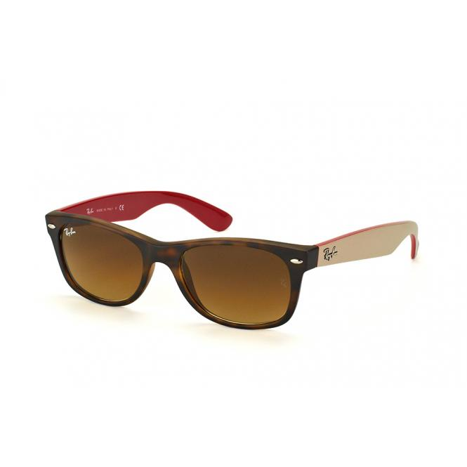 Ray-Ban NEW WAYFARER RB2132 618185 Matt Havanna 55-18