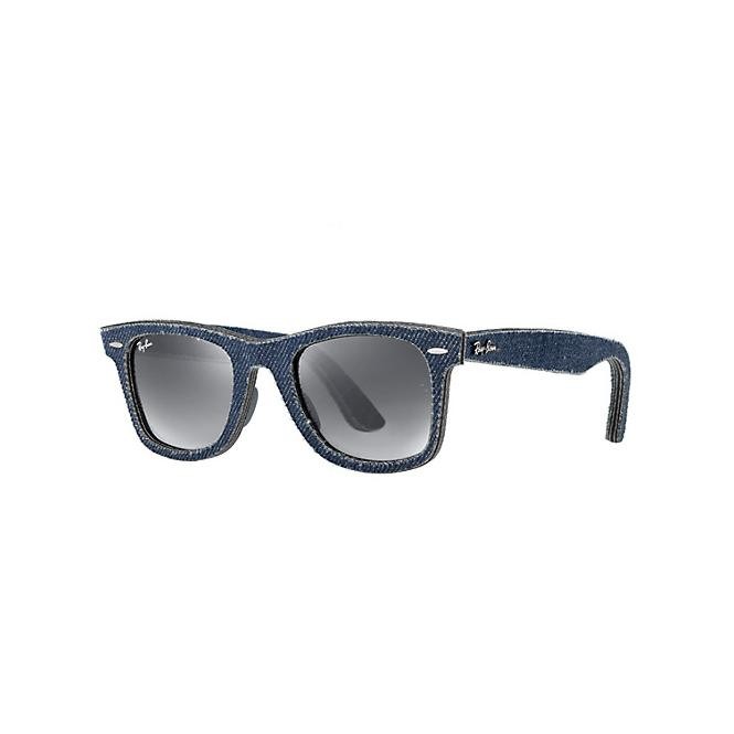 Ray-Ban ORIGINAL WAYFARER 50-22 RB2140 116371 Grey Faded Azure Anti-Glaring