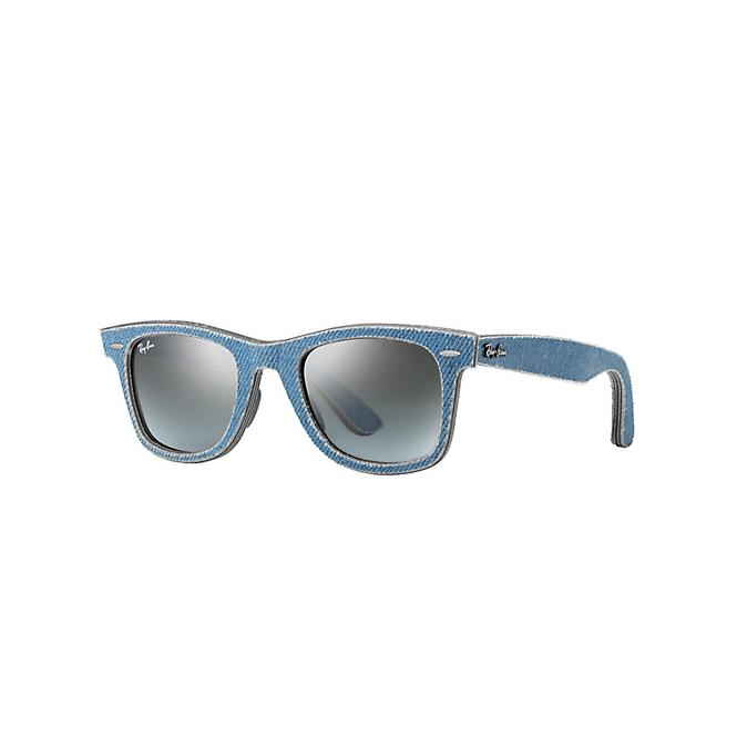 Ray-Ban ORIGINAL WAYFARER 50-22 RB2140 11644M Blue Faded Grey