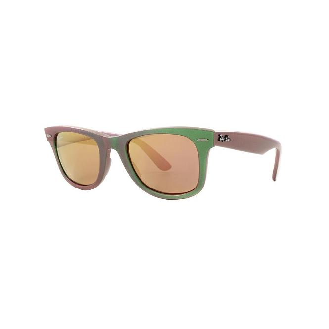 Ray-Ban ORIGINAL WAYFARER 50-22 RB2140 6109Z2 Brown Mirror Red