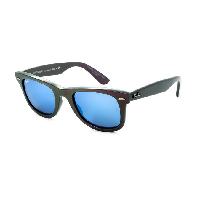 Ray-Ban ORIGINAL WAYFARER 50-22 RB2140 611217 Grey Mirror Blue