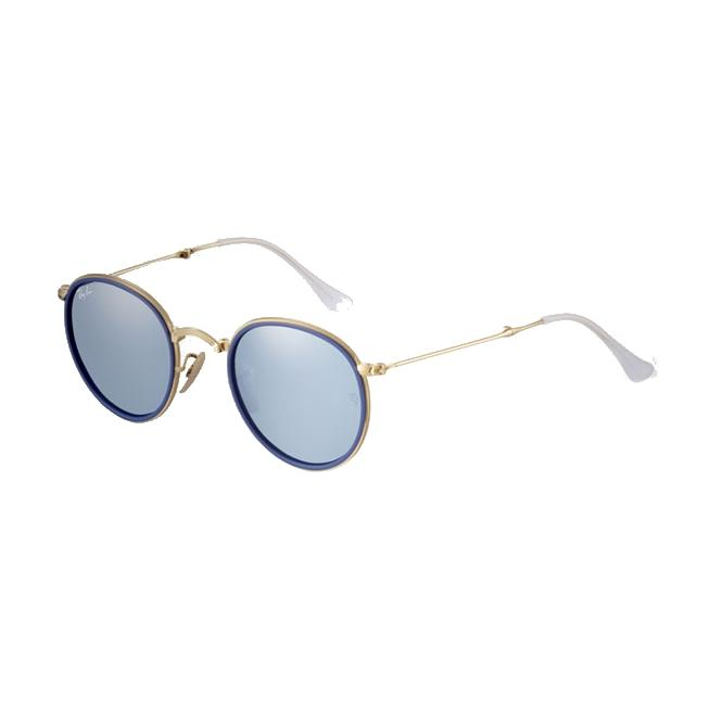 Ray-Ban RB3517 - 001/30 Green Mirror Silver 48/22