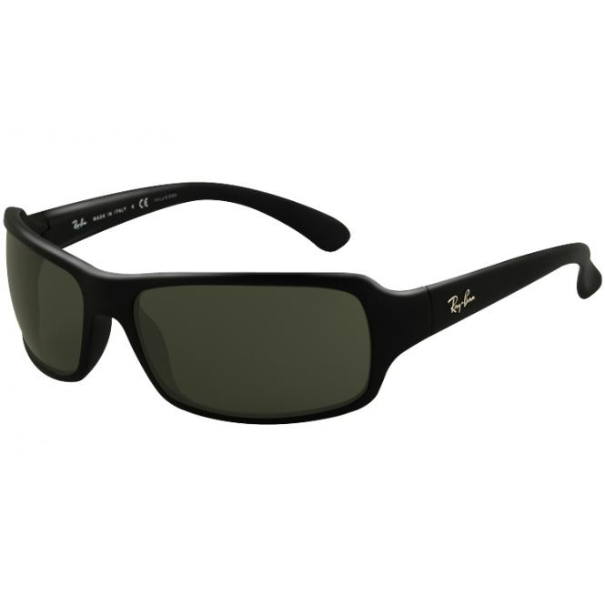 Ray-Ban 61-16 RB4075 601/58 Black Polarized