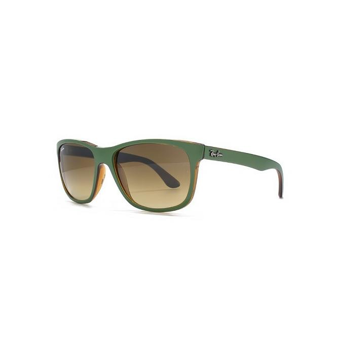 Ray-Ban RB4181 - 613785 Brown Faded + A.I. 57-16