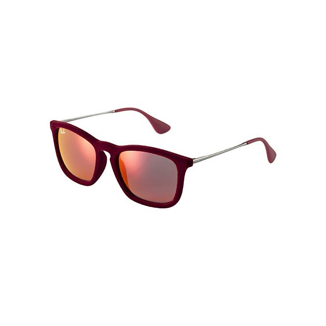 Ray-Ban Chris RB4187 - 60786Q Yellow/Red Mirr. Multilayer 54-18