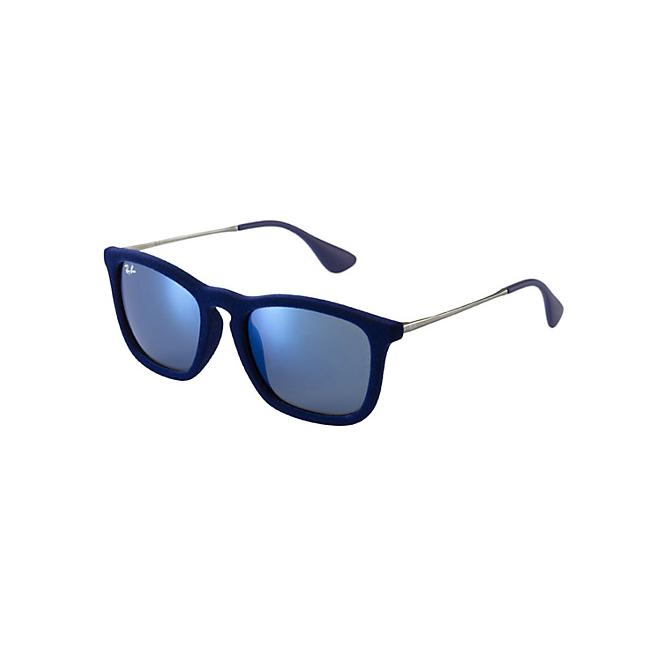 Ray-Ban Chris RB4187 - 608155 Blue Mirror Multilayer 54-18