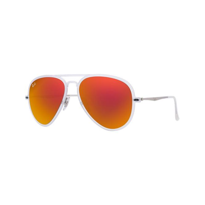 Ray-Ban RB4211 - 646/6Q Yellow/Red Mirror Multilayer 56/17