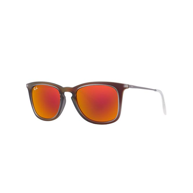 Ray-Ban RB4221 - 61676Q Yellow/Red Mirror Multilayer 50/19