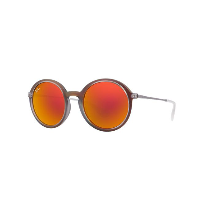 Ray-Ban RB4222 - 61676Q Yellow/Red Mirror Multilayer 50/21