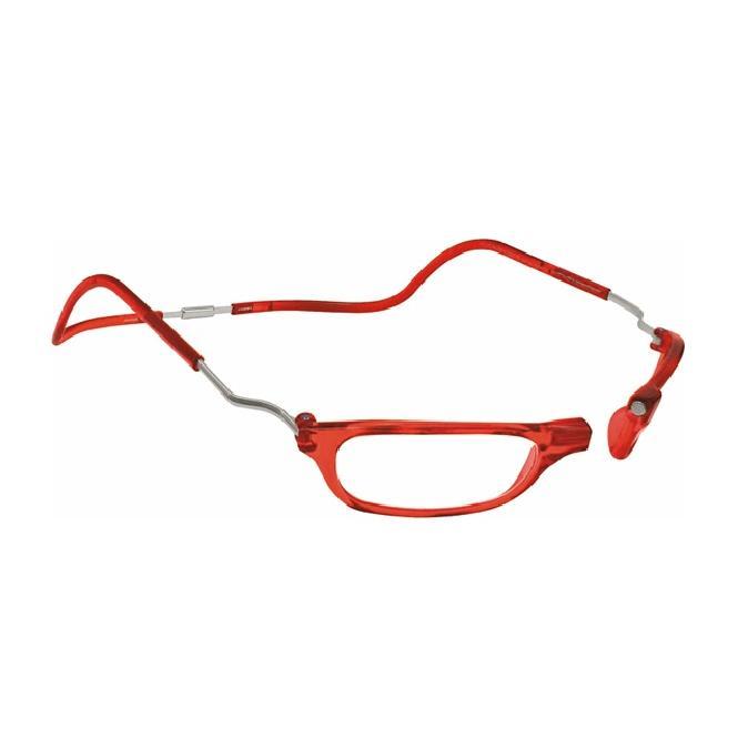 Clic Magnet Lesebrille XXLCRR Red