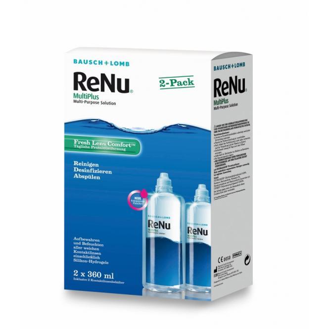 ReNu MultiPlus Twin Box - 2 x 360ml