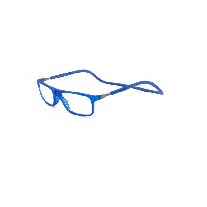 Click Slastik Llevant Magnet Lesebrille - Blue 12LS