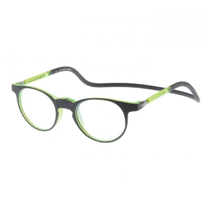 Click Slastik Soho Magnet Lesebrille - Green 004