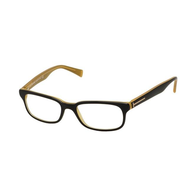 Tom Ford TF 5084 - Black Semi Transparent Yellow