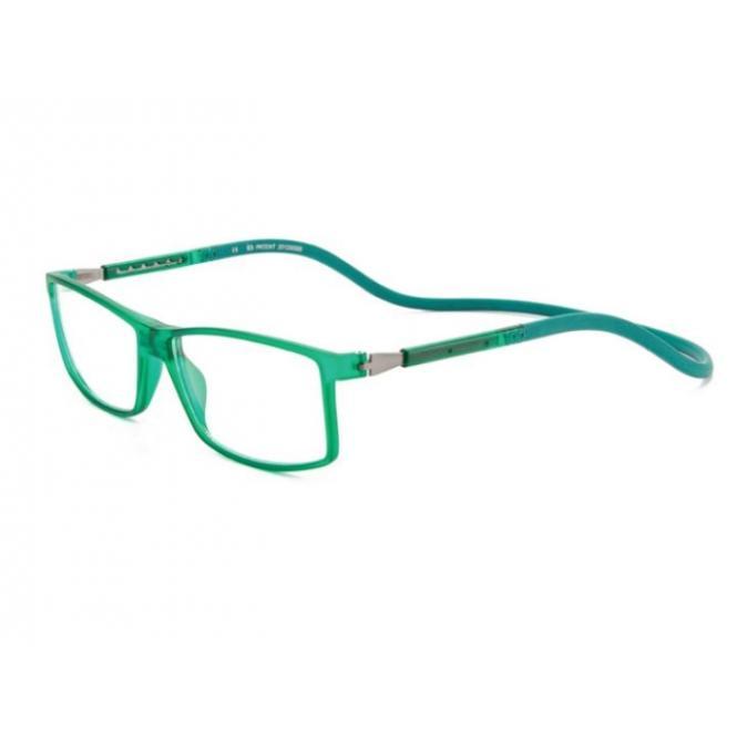 Click Slastik Trevi Magnet Lesebrille - Green 003