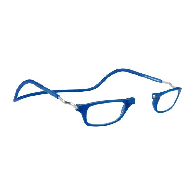 Clic Magnet Lesebrille Frosted XL-CRFRA Blue