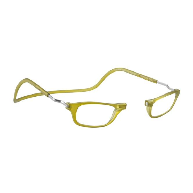 Clic Magnet Lesebrille Frosted XL-CRFRL Lime