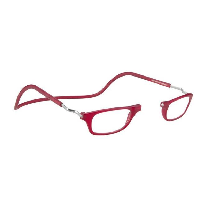 Clic Magnet Lesebrille XL-CRFRR Red