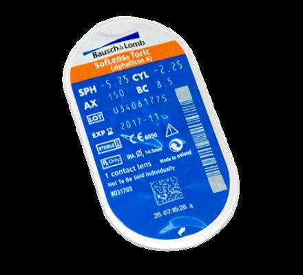 Sparset: SofLens for Astigmatism - 6 und Biotrue All-in-one Lösung