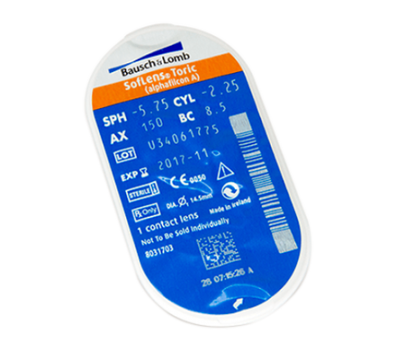 Sparset: SofLens for Astigmatism - 6 und EasySept Peroxidlösung