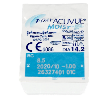1-DAY Acuvue Moist - 30 Tageslinsen