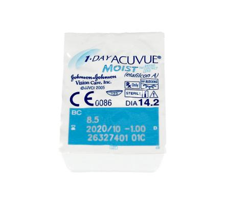1-Day Acuvue Moist - 180 Tageslinsen