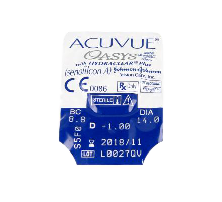 Sparset: Acuvue Oasys - 6 und AO Sept Plus HydraGlyde