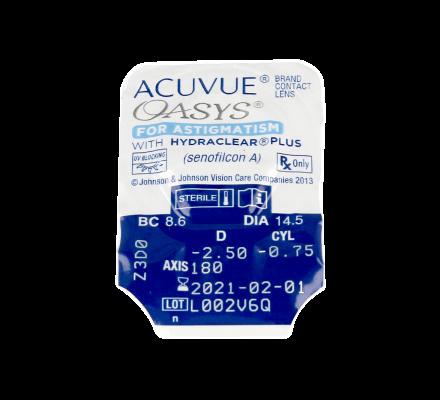 Sparset: Acuvue Oasys for Astigmatism - 6 und OptiFree PureMoist ALCON