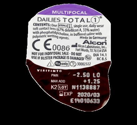 Dailies Total 1 Multifocal - 30 Tageslinsen