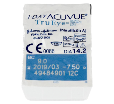 1-Day Acuvue TruEye - 90 Tageslinsen